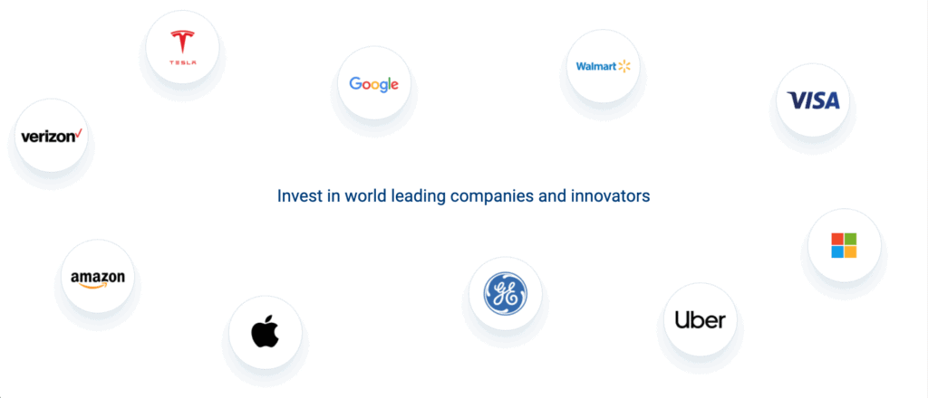 Invest in Top Technology and Innovative Companies in the World from india